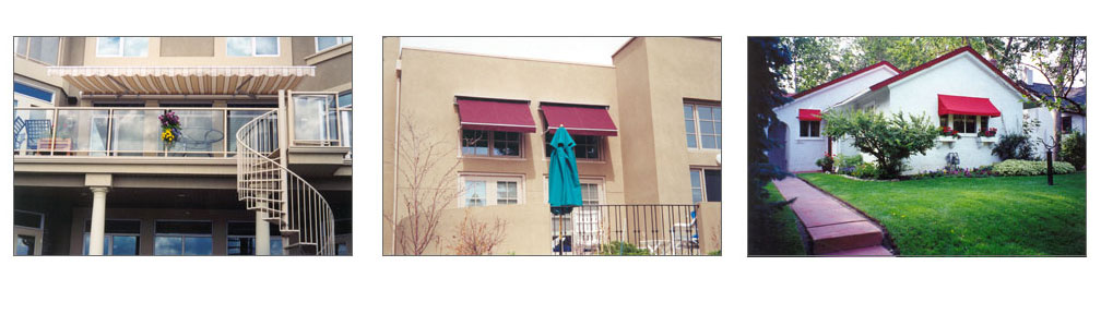 House Awnings for South Facing Windows