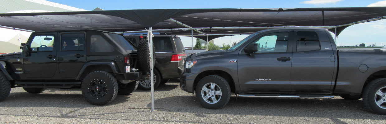 Hail Shelters for Dealerships