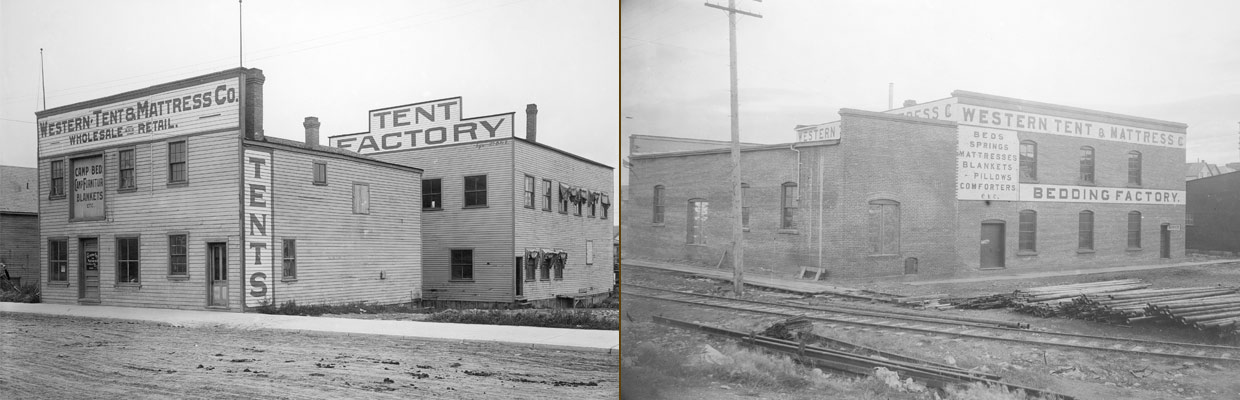 Calgary factories at the turn of the century